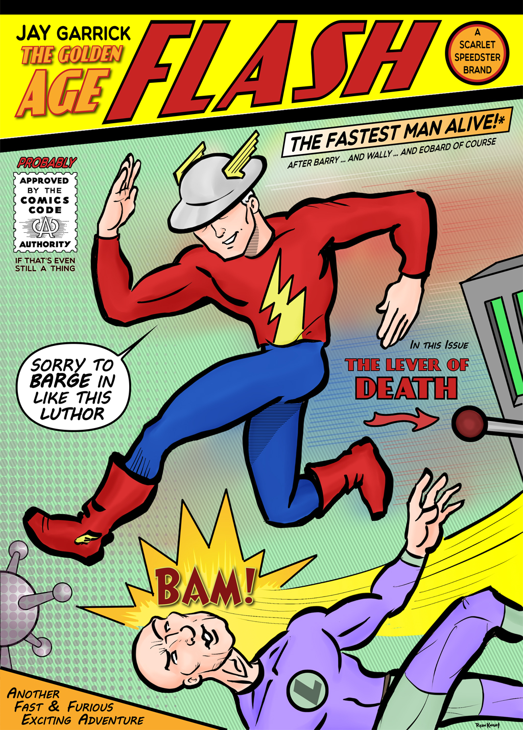 Jay Garrick: The Golden Age Flash - The Fastest Man Alive*